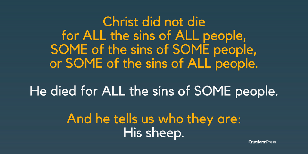 The Redeemer Gives His Life for the Sheep